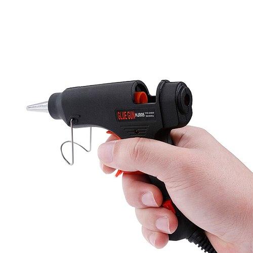 High Temp Hot Melt Glue Gun 20W Graft Repair Heat Gun Pneumatic DIY Tools Glue Gun With 10pieces 7mm*100mm Glue sticks