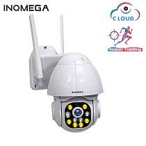 1.5 Inch Cloud 1080P PTZ Speed Dome Wifi Camera Outdoor 2MP Auto-Tracking Camera Wireless Camera 4X Surveillance IP Cam
