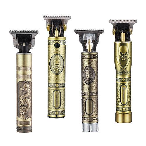 Professional Men Hair Trimmer Beard Electric Hair Clipper Baldheaded Barber Hair Cutting Machine Haircut Rechargeable Hair Cut