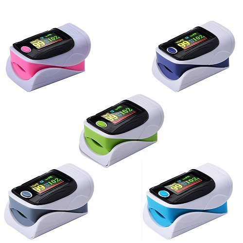 5-30pcs/lot Blood Oxygen Monitor Finger Pulse Oximeter Oxygen Saturation Monitor Oximeter Heart Rate Monitor Without Battery