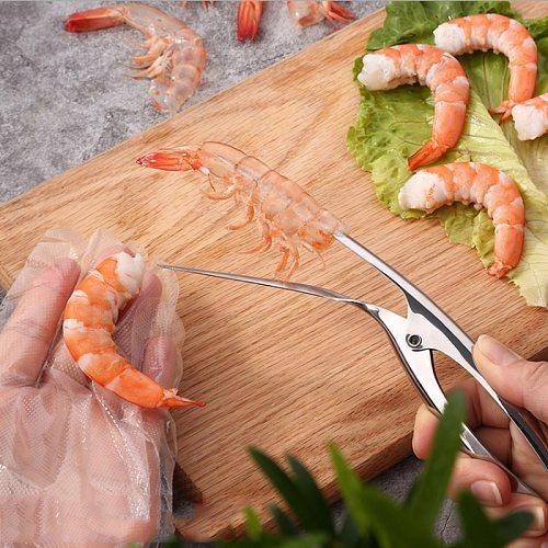 Crayfish Shelling Stainless Steel 304 Machine Durable Simple Shrimp Peeler Equipment Creative Crayfish Shellin Kitchen Tools