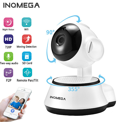 IP Camera Wireless 720P Home Security Surveillance CCTV Network Camera Night Vision Two Way Audio Baby Monitor ICSEE