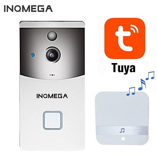 Tuya Video Doorbell Wireless Phone Home Security Camera Doorbell Alarm Remote Control Night Vision smart wifi doorbell