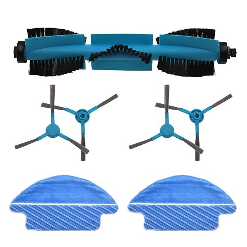 New High quality roller brush side brush mop robot sweeper accessories replacement for Conga 3090 vacuum cleaner