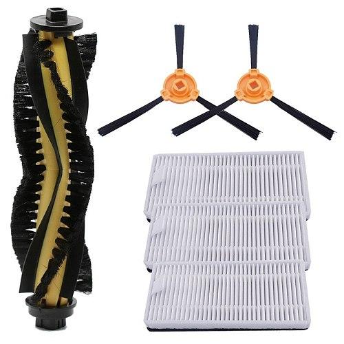 Robot Vacuum HEPA Filter Main Brush Side Brush for Conga 1090 1190 Series Robot Vacuum Cleaner Parts