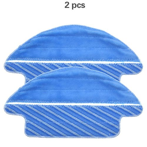 New 2pcs Fabric mop inserts for Conga 3090 series robot vacuum cleaner accessories fabric mop insert kit