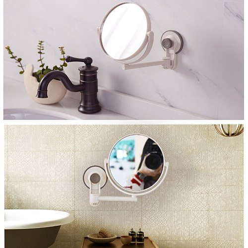 Mirror Makeup Mirror with Vanity Mirror Black 10X Or 1X&3X Magnifying Miroir Grossissant Magnifying with Light Make up tools