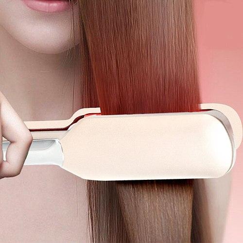 Infrared Hair Iron Straightener Flat Irons Ceramic Hair Straightening Professional LCD Strightner Hair Salon Stying Tool