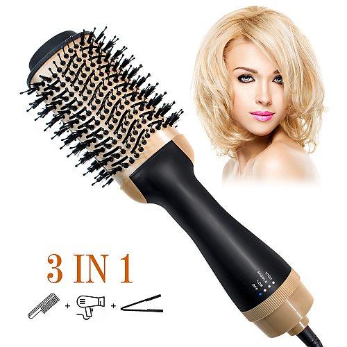 Professional Hair Dryer Volumizer Hot Air Dryer Machine Hair Blower Blowdryer Salon Equipment Comb Portable Hair Dryer Brush