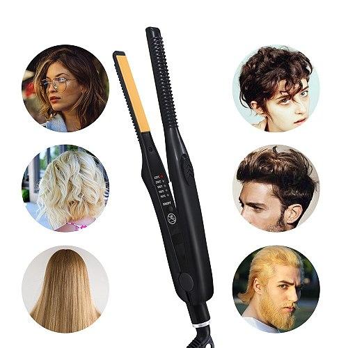 Hair Iron Straightening CeramicHair Straightener Flat Iron Hair Straight Styler Styling Tools Electric Curling Iron Hair Curler
