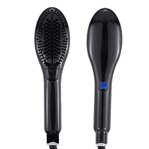 Steam Hair Straightener Brush Ceramic Flat Iron Hair Straightening Comb Electric Hair Brush Hair Iron Steampod Styling Tools