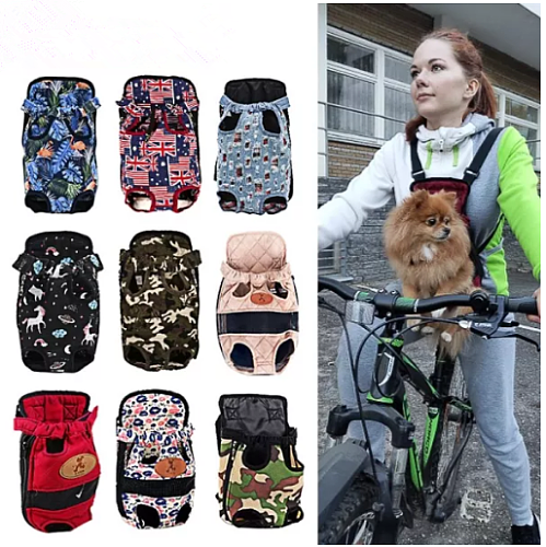 Carrier for Dogs Pet Dog Carrier Backpack Mesh Outdoor Travel Products Breathable Shoulder Handle Bags for Small Dog Cats