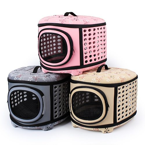 Travel Pet Cat Carrier handbag Puppy Cat Carrying Outdoor Bags for Small Dogs Shoulder Bag Soft Pets Cat Kennel WLYANG