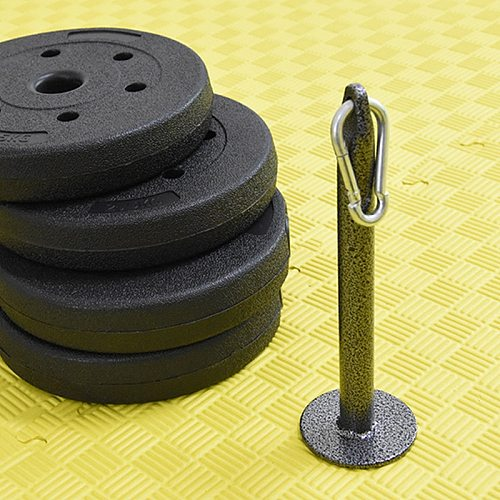 Loading Pin Weight-bearing Dumbbell Bracket For Weight Lifting Plates Crossfit Powerlifting Exercises Home Gym Accessories