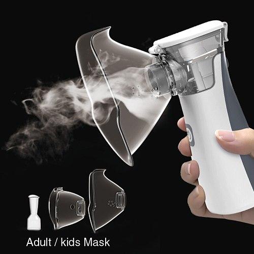 medical equipment Nebulizer Handheld Asthma portatil inhaler Atomizer inhalator for kids mini Portable nebulizador