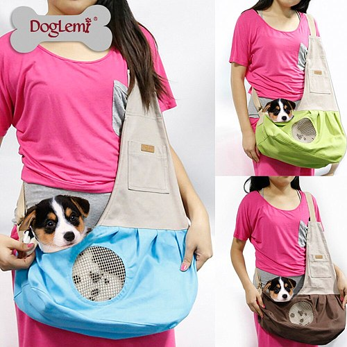 Pet backpack dog carrier bag travel Shoulder carriers Bags Front Holder for puppy small Chihuahua medium Pets Dogs Cat #SS