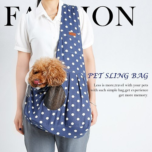 Pet Carrier Puppy Small Animal Dog Carrier Sling Front Travel Tote Shoulder carrying Bag Backpack Pet Dogs Cat accessories #SS
