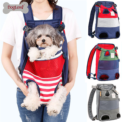 Pet dog cat carrier backpack travel carrier front chest large portable bags for 12kg pet outdoor transportin mochila para perro