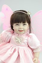 NEW design Reborn toddler girl doll sweet butterfly doll baby doll Birhtday Gift Toys for Girls