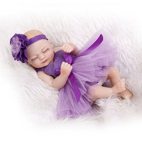 New design 10inch miniature preemie newborn baby doll soft silicone vinyl real touch soft gentle touch hand made