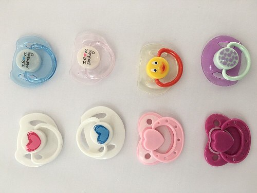 NEW lovely reborn supply magnet pacifier