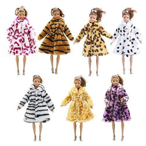 For Original Barbie Fashion Doll Clothes Accessories Handmade Party Girls Style Wear Blouse Dress Skirt for 29cm 1/6 Dolls Toys