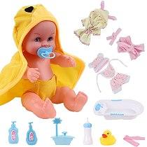 12 inch Newborn bebe Reborn Doll Girl Fashion Waterproof Baby Lifelike Dolls Baby Bath Toy For Kids Children Birthday Gifts
