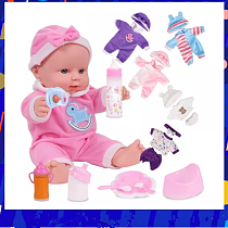 12 inches Lovely Silicone Dolls Newborn Rubber Baby Dolls Full Body Silicone Reborn Bebe Dolls Christmas Birthday For Girl Toys