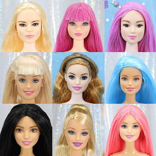 Original Joints Move Naked Dolls 29cm Variety Skin Grils Doll Head Body Toy Good Makeup Toys for Girls Bid Doll Accessories Body