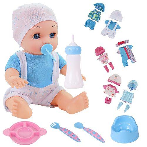 10 inch reborn baby doll bebe reborn Dolls Lifelike Alive Educational Toy Festival Birthday Gift toys for girl Kids Children