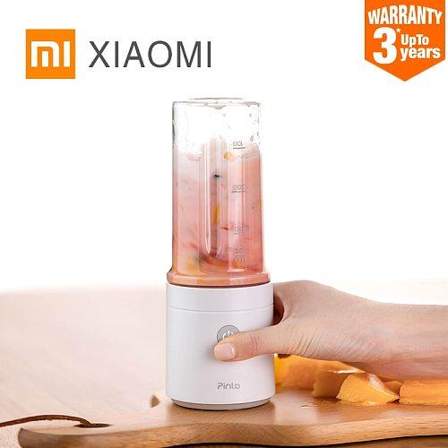 New XIAOMI MIJIA Pinlo Blender Electric Kitchen Juicer Mixer Portable food processor charging using quick juicing cut off power