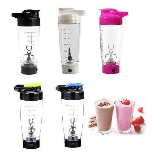 1PC 600 ML Electric Automation Protein Shaker Juicer Water Bottle Automatic Movement Coffee Milk Smart Mixer Kitchen Accessories