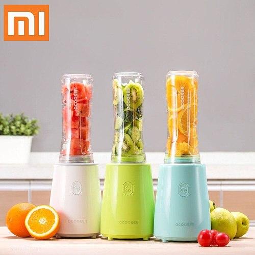 XIAOMI MIJIA QCOOKER CD-BL02 Portable Fruit Vegetables blenders Cup Cooking Machine Electric Juicer mixer Kitchen food processor