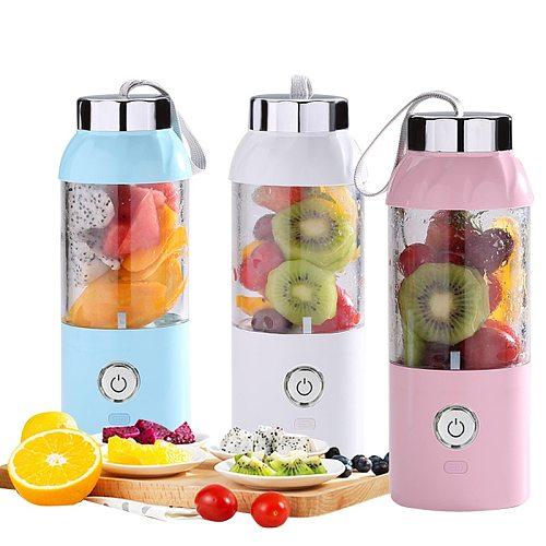 USB Portable Charging Juicer Cup Fruit Food Smoothie Maker Blender Machine Manual Juicer Electric Juicer Cup