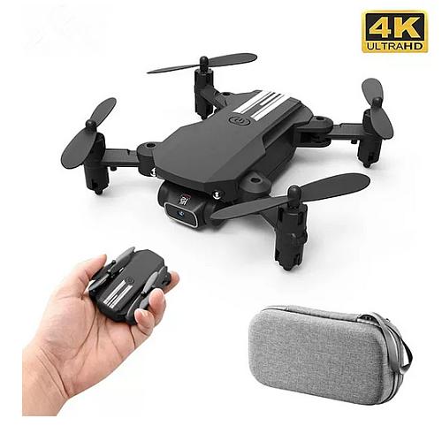 2020 New Mini Drone 4K 1080P HD Camera WiFi Fpv Air Pressure Altitude Hold Black And Gray Foldable Quadcopter RC Dron Toy