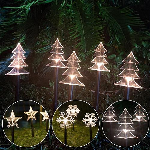 Christmas Garden Lights 2020 Merry Christmas Decor For Home Cristmas Ornaments Xmas Gifts Happy New Year 2021 Navidad Noel