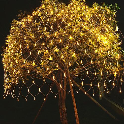 Warm White LED Light Mesh String Lamp Tree Decorative Led Lights Christmas Decor for Home Fairy Holiday Lights New Year