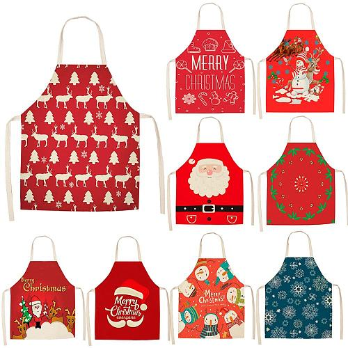 Apron Red Christmas Table runner Christmas Kitchen Decorations Merry Christmas New Year Decoration 2020 Xmas decor Navidad Neol