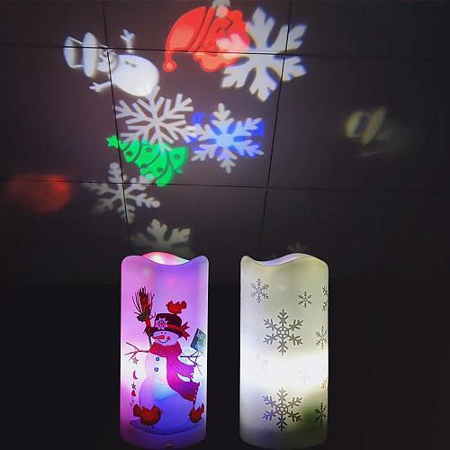 Christmas Projection Lamp Merry Christmas Decor for Home 2020 Navidad Christmas Lights Ornaments Xmas Gifts New Year 2021