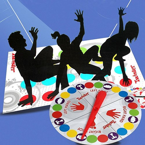 Interactive Game Classic Twist Board Games Funny Family Party Children Crafts Body Games Outdoor Fun Toy Sports Christmas Gift