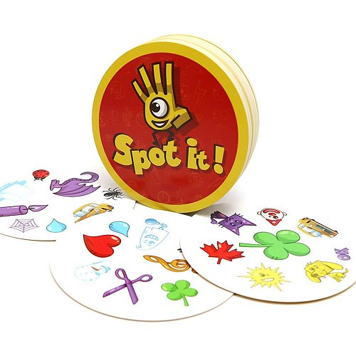 spot board games mini 70mm enjoy it for kids family party fun education toys most classic Dobble it cards game