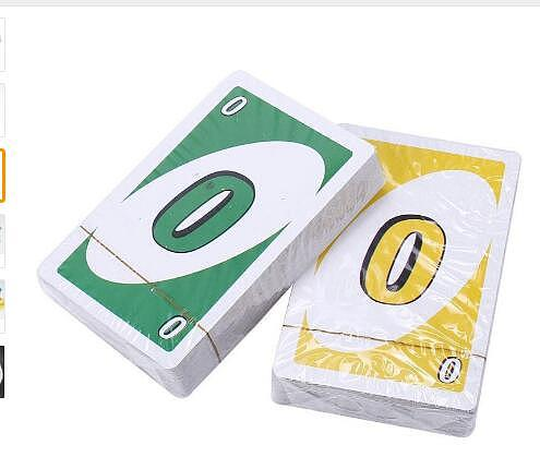 Topsale Puzzle Games 172.8g 108 Cards Family Funny Entertainment Board Game Fun Poker Playing Cards Gift Box