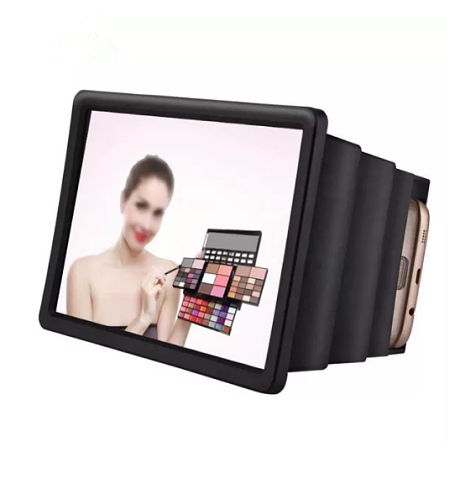 3D Mobile Phone Screen Magnifier Amplifier Screen Magnifying Support Smartphone with Curved Screen Magnify Projection Bracket