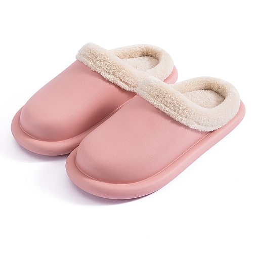 Women Winter Slippers EVA Comfortable Warm Fashion Shoes Female Thick Soft Sole Indoor Bedroom Home Couple Man Slippers