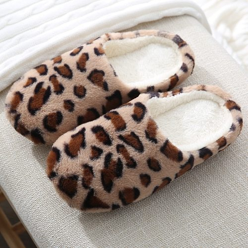 Warm Plush Indoor Slippers Women Men Home Floor Slipper Soft Faux Fur Shoes Lovers House Mute Slides  Artifical Suede Sole SH455