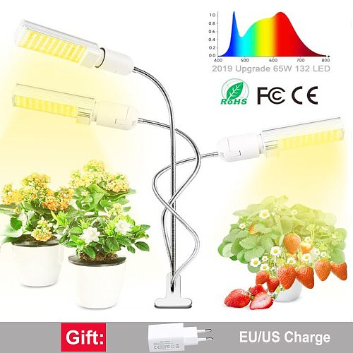 Full Spectrum LED Plant Grow Light Lamps E27 bulb phyto lamp For indoor Flower Plant Veg Hydroponics System Grow Tent
