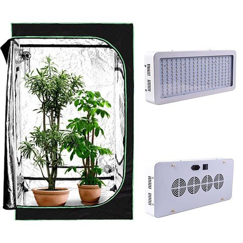 LED Plant Grow Tents For Indoor flower VEG Seedling Growing Light lamp Accessories Hydroponic Grow Box Mylar Ratchet Hangers
