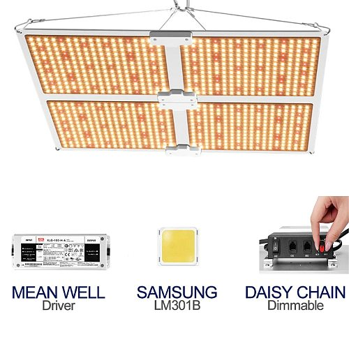 1000W 2000W 4000W Samsung LM301B Chips Indoor LED Full Spectrum Grow Light Dimmable Quantum Tech Board Lamp For Plants Growth