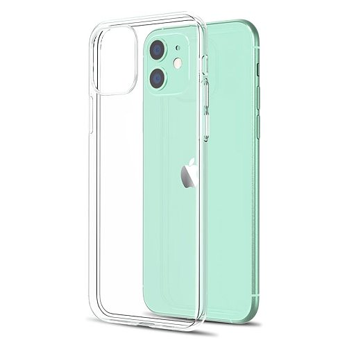 Ultra Thin Clear Phone Case For iPhone 11 7 Case Silicone Soft Back Cover For iPhone 11 12 Pro XS Max X 8 7 6s Plus 5 SE XR Case