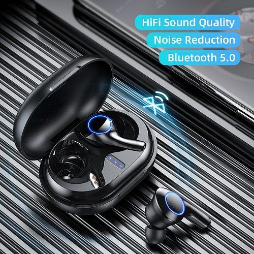Wireless Headphones bluetooth Earphone Waterproof Earphones With Microphone TWS Sport Headsets беспроводные наушники auriculares